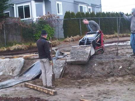 2013-02-01 Retaining wall magic