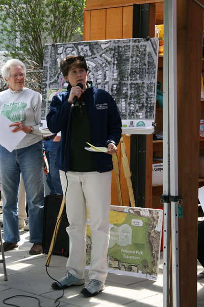 Sally Clark, City Council and Susan Casey, Pres. FMMP